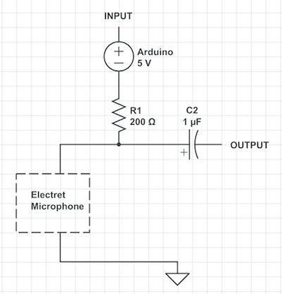 on arduino microphone wiring diagram